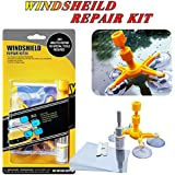 Yoohe Car Windshield Repair Kit, Windshield Crack Repair Tools Kit for Fix Auto Glass Windshield Crack Chip Scratch