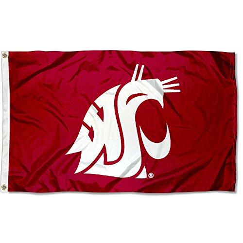 Washington State Cougars WSU University Large College Flag]()