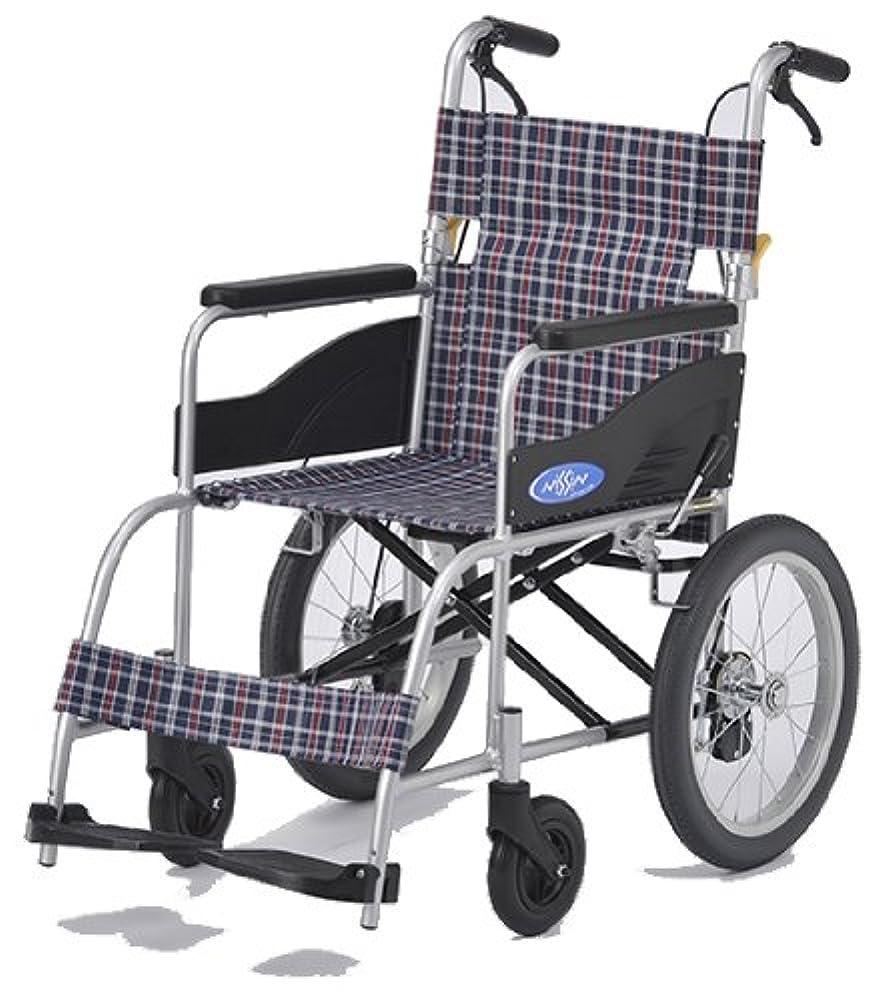 破壊的なそこからアソシエイト【クラウド】【マドラスグリーンチェック】 約10.5Kgの介助式車椅子 【スーパー軽量】【コンパクト】【車椅子】【介助式 介助用】【ノーパンクタイヤ】【アルミ】【折り畳み】【背折れ】【脚部エレべーティング】【介助ブレーキ付き】【車いす】 A604-AC