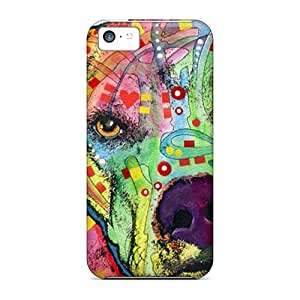 CharlesPoirier Iphone 5c Scratch Resistant Hard Phone Cases Support Personal Customs Attractive Pit Bull Dean Russo Image [qZC15817dbne]