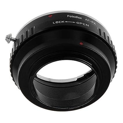 SLR Lens on Fuji X-Mount Cameras FX35 Fotodiox Lens Mount Adapter ...