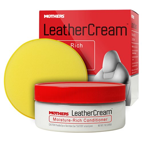 Mothers 06310 Leather Cream Moisture-Rich Conditoner – 7 oz.