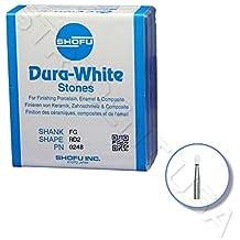 Shofu Dura White Mounted Stone Bur FG RD2 (12 per box) SH-0248