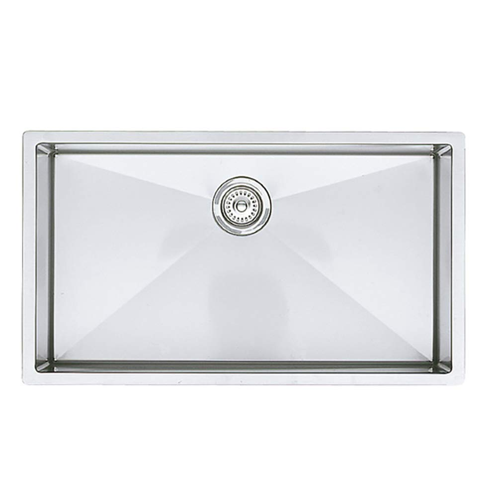 Blanco 515823 Precision R10 Super Single Undermount Kitchen Sink, 32.00 x 18.00 x 10.00 inches, Stainless Steel
