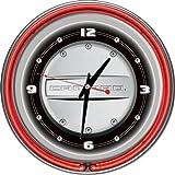 camaro clock neon - Chevrolet Camaro Chrome Double Ring Neon Clock, 14