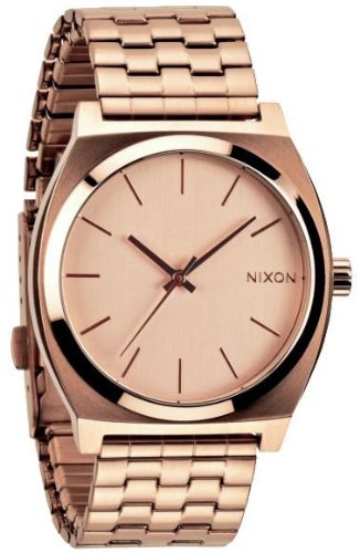 NEW Nixon Time Teller Watch All Rose Gold - Rose Gold Nixon Watch Mens