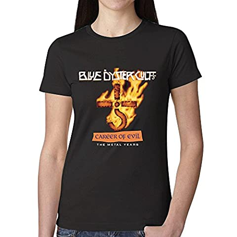 Blue Oyster Cult Career Of Evil The Metal Years Women T Shirts Black (Brad Mehldau Sheet Music)