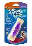 Hartz Chew 'n Clean Tuff Bone Bacon Scented Dental Dog Chew Toy - Extra Small