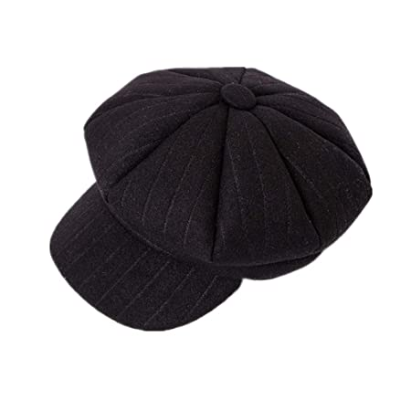 ZOODQ Sombrero de señora Beret Estilo francés Boinas de Lana para ...