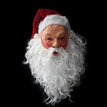 Hengyutoy Mask Disfraz de Pap/á Noel para Hombre