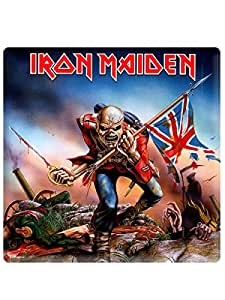 Iron Maiden Metal Steel Fridge Magnet The Trooper Album