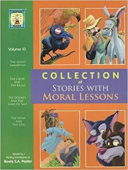 COLLECTION OF STORIES WITH MORAL LESSONS VOL 10 BILINGUAL TAGALOG ENGLISH BOOTS SA PASTOR 9789715183727 Amazon Books
