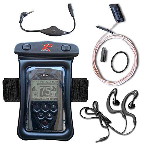 XP Metal Detectors XP Deus Certified Underwater Water Kit for LCD Remote Or  WS-4 Control Pod
