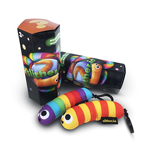 Slither Io Series 1 Blind Box Plush W  Backpack Clip
