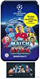 #10: 2016/2017 Topps Match Attax Champions League Soccer Collectors MEGA TIN with 60 Cards & GOLD Limited Edition Card PLUS BONUS Lionel Messi Pack! Look for Top Stars Ronaldo, Messi, Suarez, Neymar & More