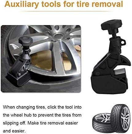 Grebest Tyre Changer Clamp Maintenance Tools Tyre Changer Auto Car Tire Changer Bead Clamp Drop Center Rim Hunter Tool Heavy Duty Machine Black