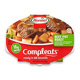 Hormel COMPLEATS Beef Pot Roast, 9 Ounce, Pack of 6
