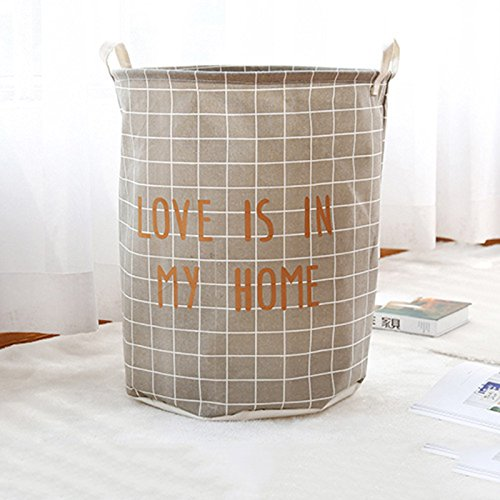 Julitech Large Laundry Basket 2 Pcs, Collapsible Fabric Laun
