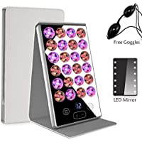 LED Facial Light Therapy Beauty Treatment