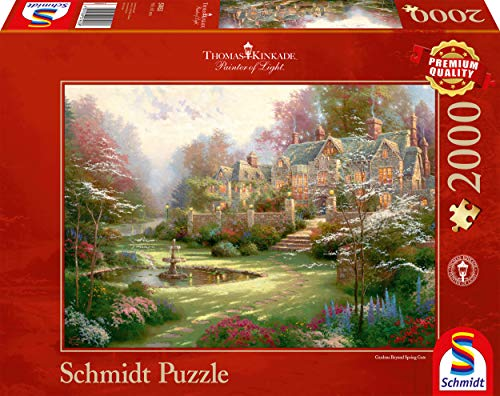 Schmidt Puzzle 2000 pieces - The country house, Thomas Kinkade (cod.57041)
