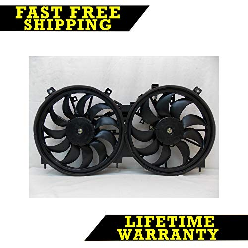 - RADIATOR CONDENSER COOLING FAN FOR NISSAN FITS MURANO QUEST 3.5 V6 NI3115138