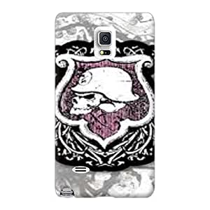 High Quality Phone Case For Samsung Galaxy Note 4 With Customized High-definition Metal Mulisha Pattern RobAmarook