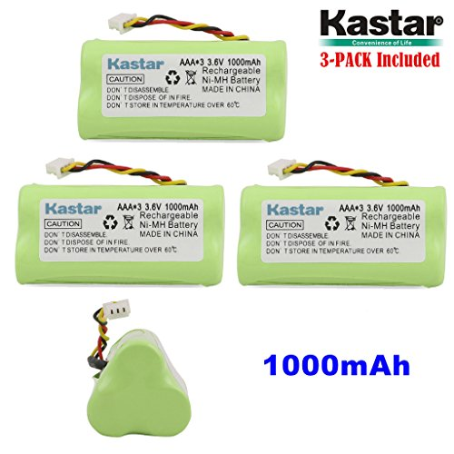 - Kastar 3-Pack AAA 3.6V 1000mAh Ni-MH Rechargeable Battery Replacement for Zebra/Motorola Symbol 82-67705-01 Symbol LS-4278 LS4278-M BTRY-LS42RAAOE-01 DS-6878 Cordless Bluetooth Laser Barcode Scanner