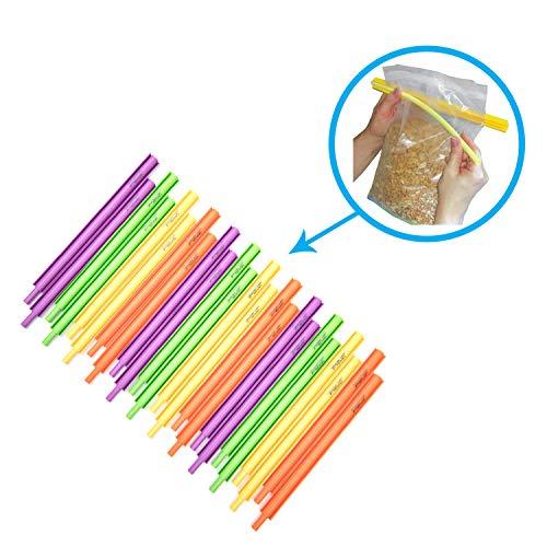 (BSeal Bag Sealer Chip Clip, Mighty Little Bag Sealer, 24 Pack)