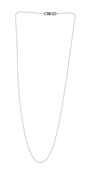 Adara 9 ct Yellow Gold Belcher Chain of Length 40.64 cm 5hH7XEar