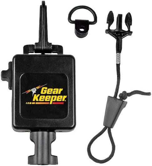 Hammerhead Industries Gear Keeper CB MIC Keeper Retractable Microphone Holder RT3-4112 – Features Heavy-Duty Snap Clip Mount