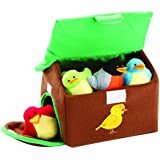 Animal House Animals Sound Toys with Carrier | Plush Baby Gift | Toddler Gift (Birdhouse)