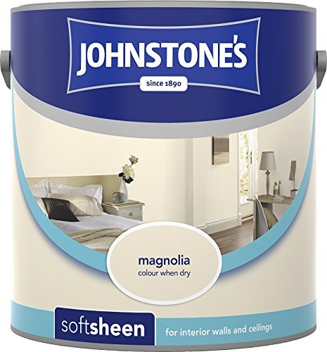 Soft Sheen Emulsion (Johnstone's 304149 Vinyl Soft Sheen Emulsion - Magnolia,2.5 by Johnstone's)