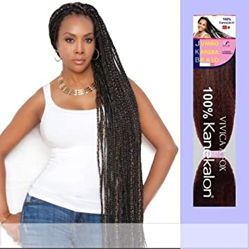 JKB,V (Vivica A. Fox , Weave and Bulk) , Kanekalon Braiding Hair in 3