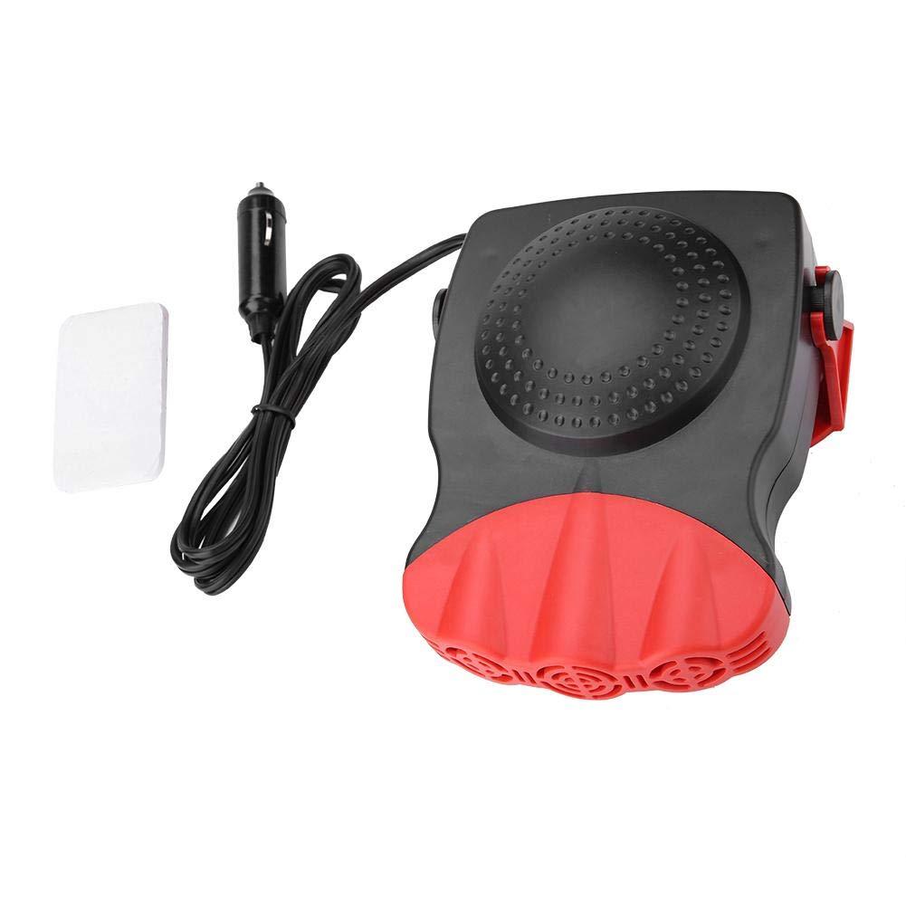 FTVOGUE 12 V Portatile Auto Parabrezza Finestra sbrinatore Ceramica Ventola di Raffreddamento (150W Riscaldamento Raffreddamento)