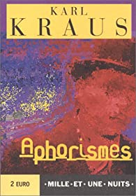 Aphorismes par Karl Kraus