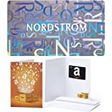 $100 Nordstrom Gift Card and $20 Amazon.com Gift Card offers