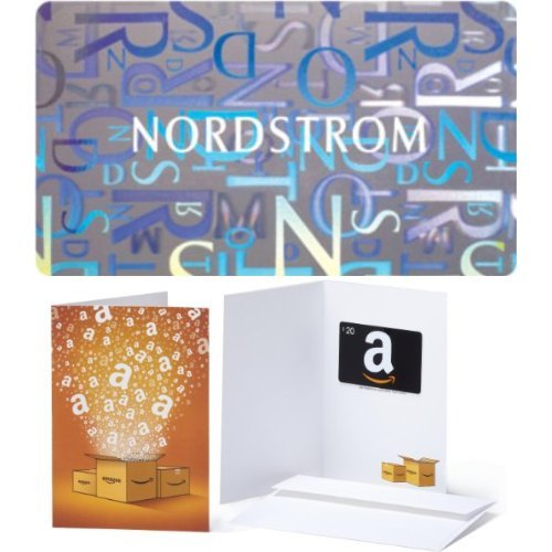 100 Nordstrom Gift Card And  20 Amazon Com Gift Card