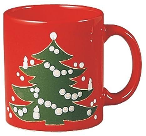 Coffee Christmas Tree.Waechtersbach Christmas Tree Mug Set Of 4
