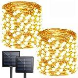 Albelt 2-Pack Each 72ft 200 LED Solar Lights