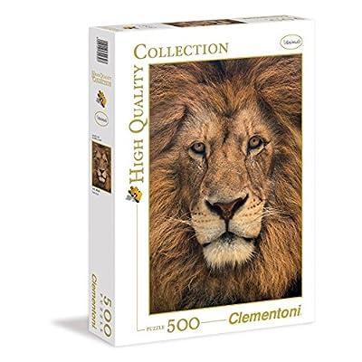 Clementoni 30230 Puzzle Collezione High Qualitylion Face 500 Pezzi