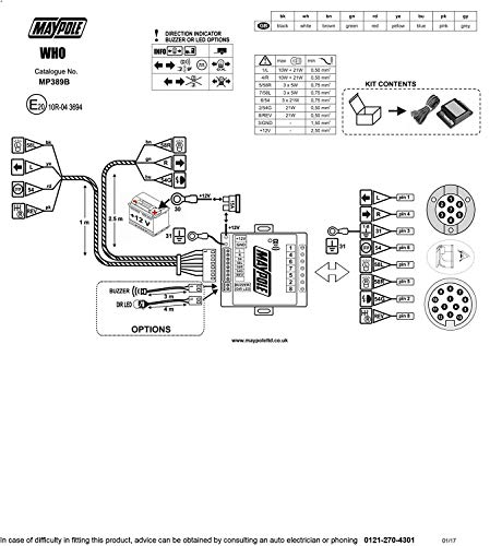 MAYPOLE MP389B Electronic Bypass Relay 7- Buy Online in India at DesertcartDesertcart