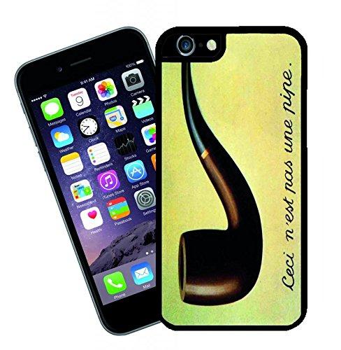 Rene Magritte tubo - questa copertura si adatta Apple modello iPhone 6s (6s non plus) - di idee regalo di Eclipse