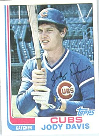 Amazoncom 1982 Topps Baseball Card 508 Jody Davis Near Mint