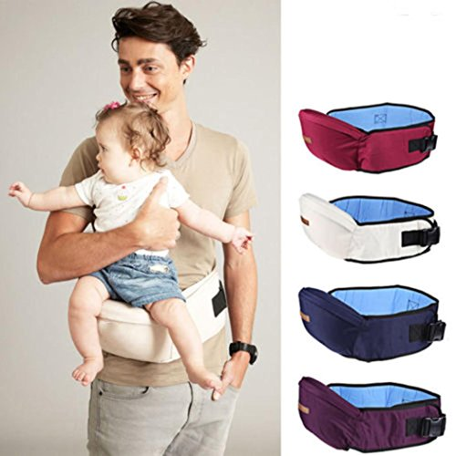 Walkers Hold Infant Baby Baby Backpack Hipseat Waist Belt Blue Hip JIANGfu Seat Carrier Sling qwtyAqa1