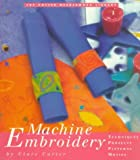 Machine Embroidery, Clare Carter, 0517887193