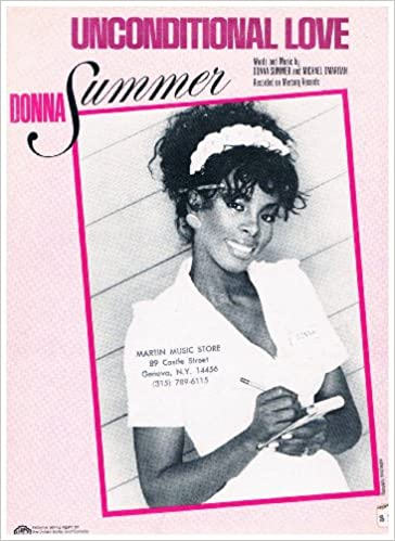 Amazon.com: Unconditional Love - Recorded by Donna Summer (Sheet ...