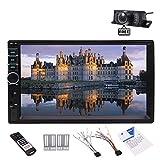 EinCar Free Rear Camera + Newest Brand in Deck Headunit in Dash Car Stereo Double 2din Autoradio Bluetooth System Multi video Audio Automotive Vehicle NO DVD GPS Player