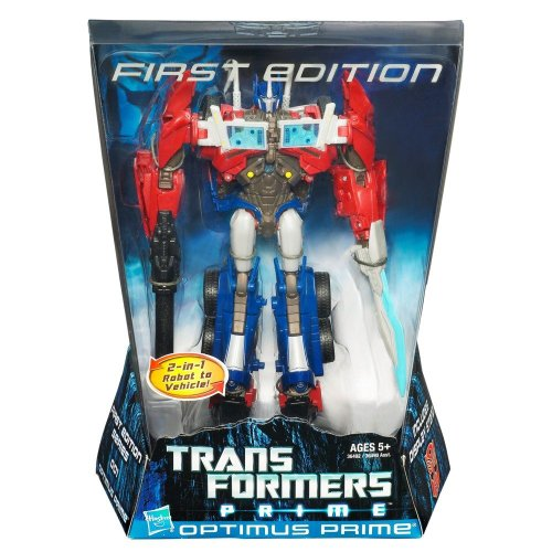 Optimus Prime Transformers Prime Action Figure Voyager Class First Edition (First Transformer)