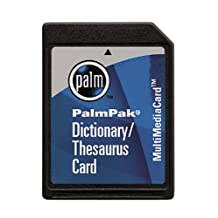 Palmpak Dictionary & Thesaurus Card for M515/M505/M500