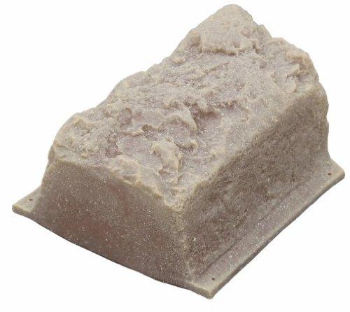 DekoRRa Block Edging Kit, Sandstone Tan, Pack of 16 (400-SS) (Garden Edging Block)